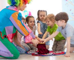 Kids having fun at a party