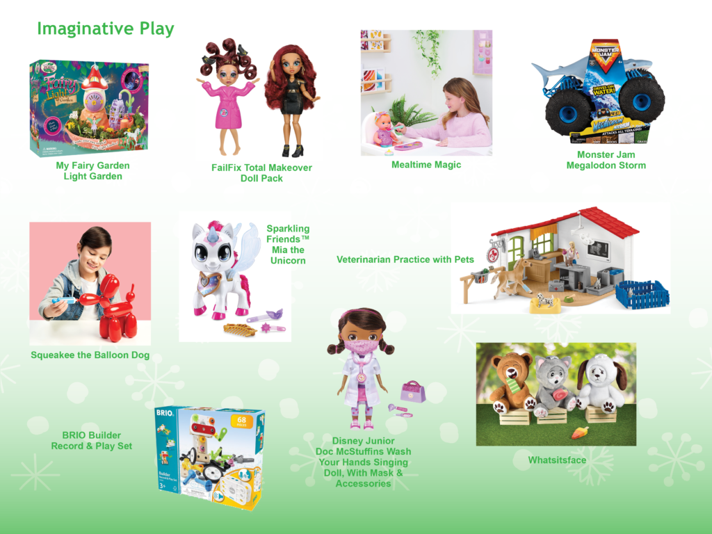 NAPPA Gift Guide Imaginative play toys