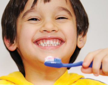 Make brushing teeth fun for kids