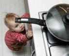 Toddler reaching for hot pan - Kid Safe DC