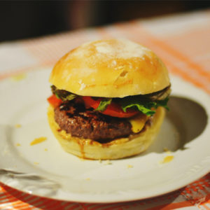best burger recipe for national barbecue month