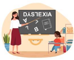 dyslexic child