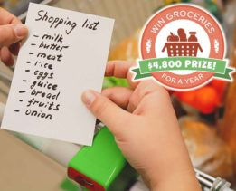 Groceries for a Year Giveaway